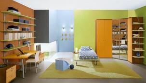 Kombinace barev v dětském pokoji