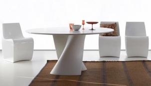Kruhové kuchyňské stoly