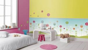 Tapetománie v dětském pokoji