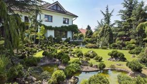 Zahrada s exotikou i vnitřním klidem