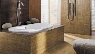 Velký efekt malé mozaiky v koupelně