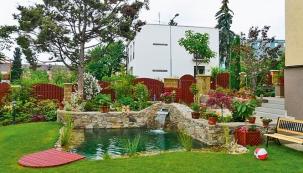Jak vznikla zahrada na malé ploše