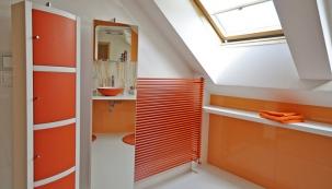 Omlazení podkrovní koupelny