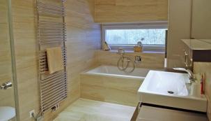 Nadčasové řešení koupelny