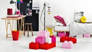 Lego jako doplněk dětského pokoje