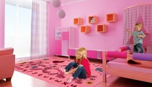 Dekorativní a praktické dětské koberce