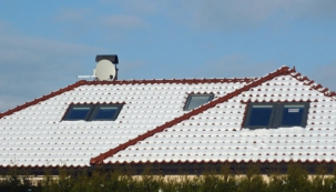 Alfa a omega šikmé střechy