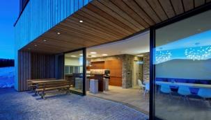 Zimní bydlení s úžasnými výhledy