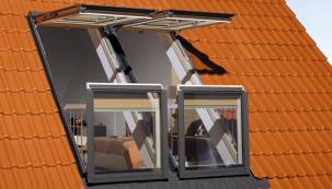 Okno do plochých střech na FOR ARCH
