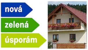 Nová zelená úsporám 2013 (ilustrační fotografie)