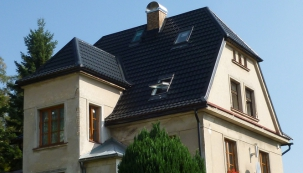 Rekonstrukce střechy tradiční vícegenerační vily