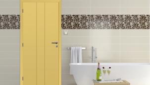Pískově žlutá – nový odstín v modelové řadě lakovaných dveří
