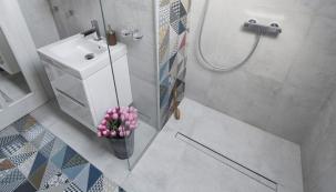 Moderní rekonstrukce koupelny