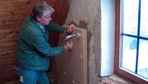 Izolace fasád a stěn dřevovláknitými deskami Udi