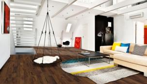 Dřevěné podlahy s možností potisku