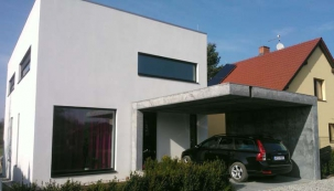 Novostavba nízkoenergetického rodinného domu