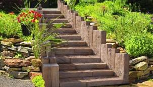 DITON Linie dřeva, schody, Dub světlý