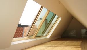 Střešní okna a prosklení zhodnocují podkroví