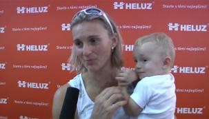 Barbora Špotáková na veletrhu ForArch