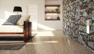 Litá podlaha z cementových potěrů