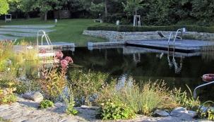 Zahrada s vodními prvky