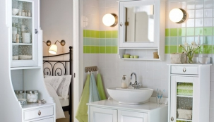 Proměna barvou: jarní zelená