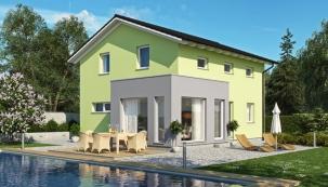 Haas Fertigbau uvádí na trh nový akční rodinný dům Spring se zimní zahradou zdarma.
