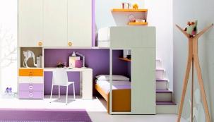 Proměna barvou na zdi: pro holky
