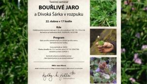 Pozvánka na terénní seminář Jany Vlkové