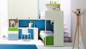 Proměna barvou na zdi: pro kluky