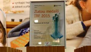 Zlatá medaile z IBF 2015 pro Wienerberger
