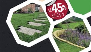 Jarní slevy až 45% na betonové výrobky