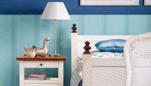 Proměna ložnice: námořnická barva