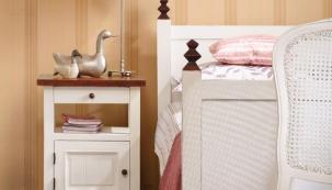 Proměna ložnice: něžná barva
