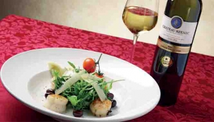 Rukolová variace s mini salátem mizuna