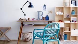 Ratanové křeslo s širokým sedákem 60 x 70 cm, výška 75 cm, cena 5 554 Kč, www.nordicday.cz