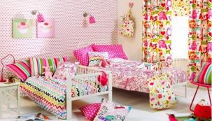 Záclona Escape Tropical z kolekce Ideal World, 100% bavlna, cena 345 Kč/m, www.petros-interier.cz