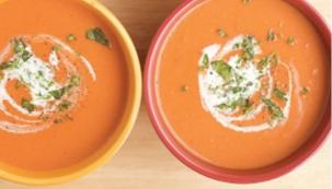 Krémová rajčatová polévka