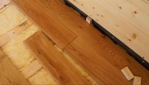 VIDEO: Šroubování masivní podlahy III