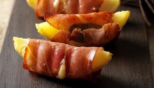 Brambory ve slanině