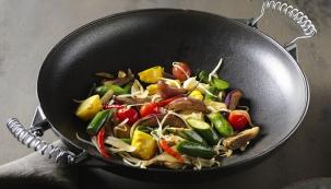 Zelenina na woku