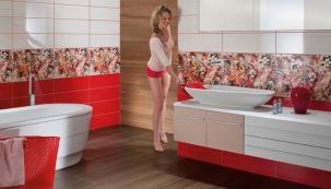 Barevné spáry doladí styl vaší koupelny