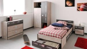 Dětský pokoj Fabric (PRS-S), lamino, 4 ks nábytku, cena 11 858 Kč, www.nabytek-aldo.cz