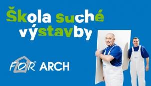 Rigips Škola suché výstavby v rámci doprovodného programu veletrhu FOR ARCH 2015.
