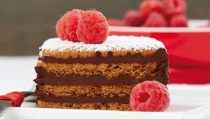 Lotus Biscoff a čokoládová terina