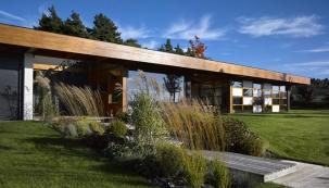 Vila na pomezí japonské architektury