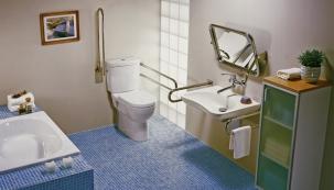 Bezbariérové koupelny