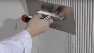 VIDEO: Úprava fasády pomocí gletování s nátěrem