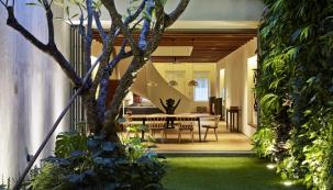 Řadový dům po Singapursku
