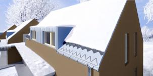 Elektrickými topnými kabely lze účinně chránit před mrazem iokapy aokraje střech